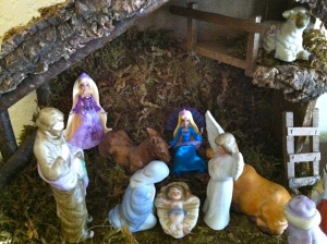 Apparently C.J. thinks that two Barbies are better than three wise men.
