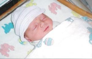 My sweet baby C.J.
