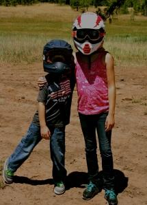 KK's Daughter and C.J. in Colorado