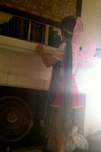 When was the last time you awoke to a fairy scaling the fireplace in your bedroom?