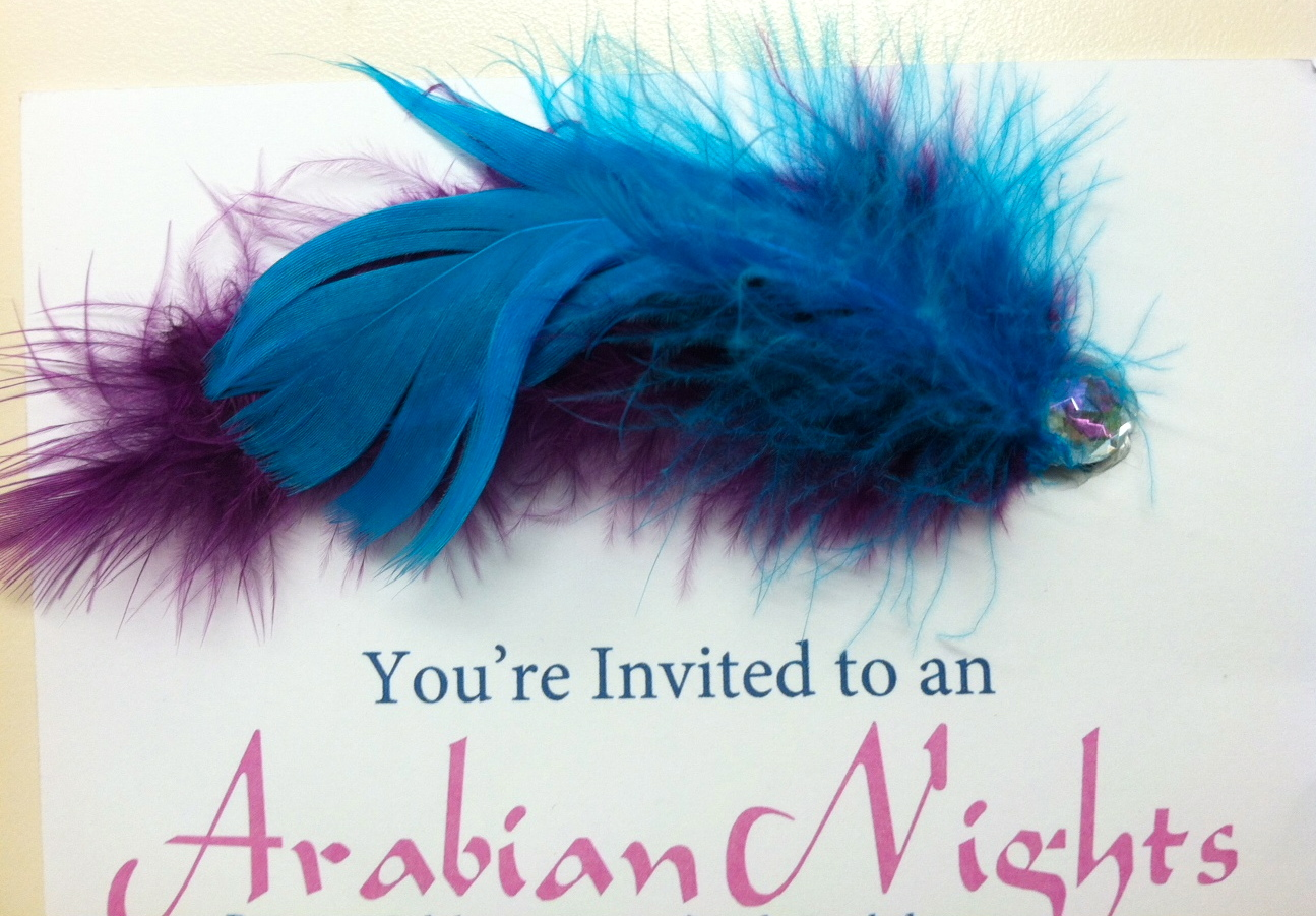 Arabian Nights Sweet 16 Invitations – Arabian Nights Party Invitations