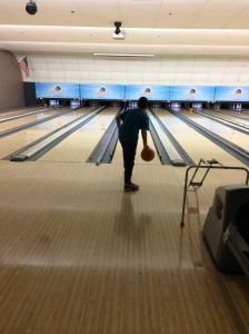 Chase bowling.