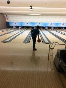 Chase bowling.