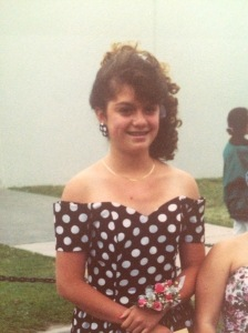Me at 8th grade graduation, proving that it does get better (barely).