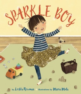 https://www.amazon.com/Sparkle-Boy-Leslea-Newman/dp/1620142856/ref=sr_1_1?ie=UTF8&qid=1497460794&sr=8-1&keywords=sparkle+boy
